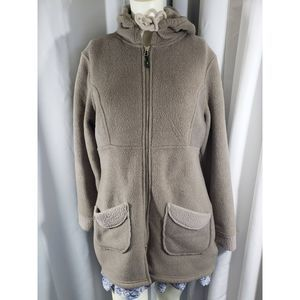 MOA Fleece Hooded Jacket 			 Size L